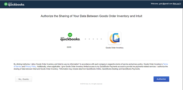 GOIS to QuickBooks