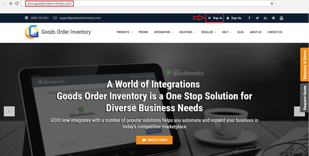 GOIS & QuickBooks Online Integration