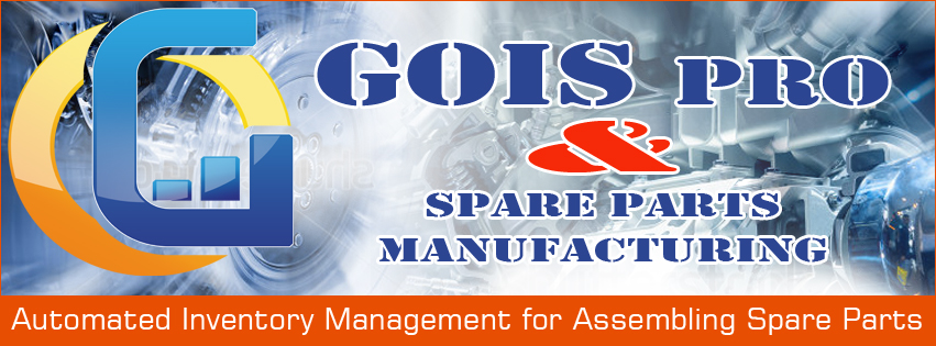 inventory application for a spare part manufacturing industry